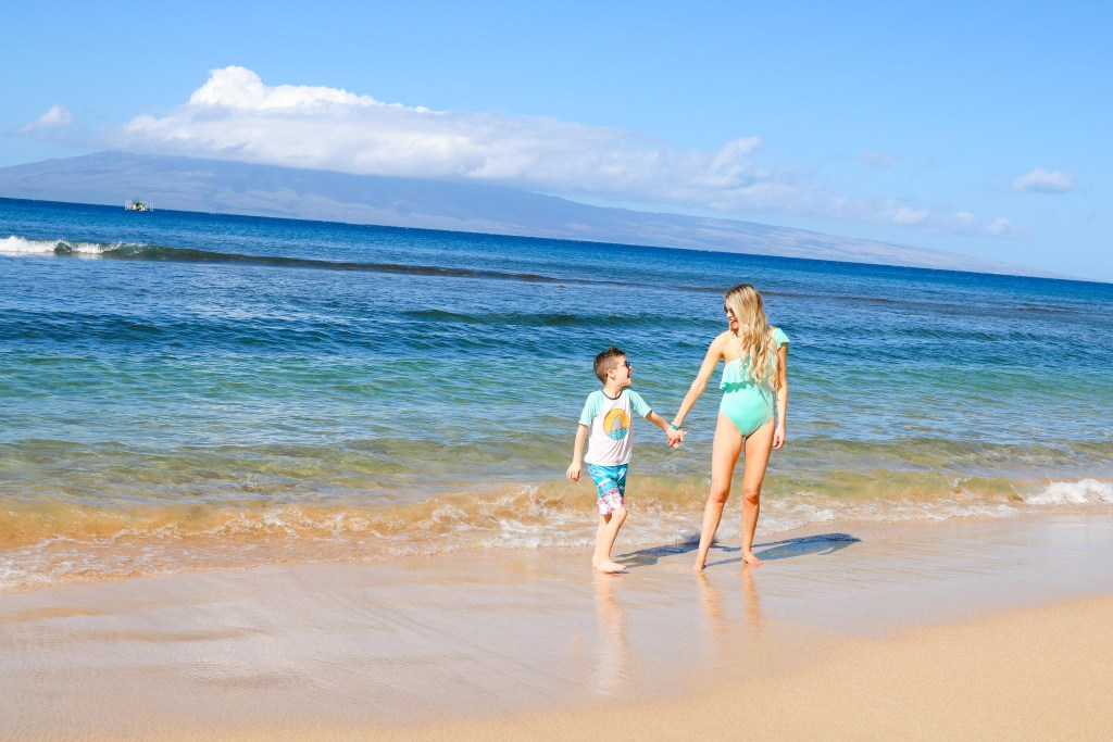 Hyatt Regency Resort & Spa in Maui, Hawaii. Tips and tricks for staying with kids! #travel #hawaii #maui