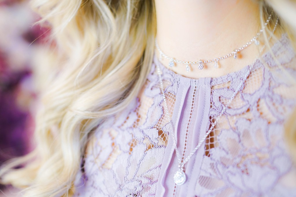 Sparkle Ball Necklace layering