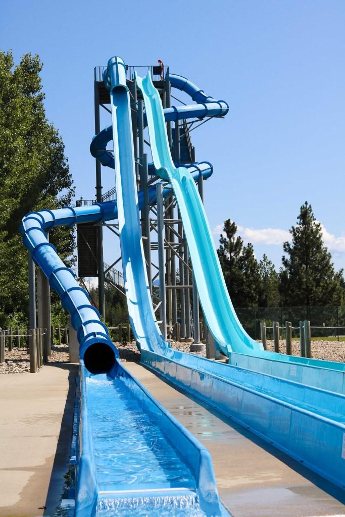 Velocity Peak water slides - travel with kids