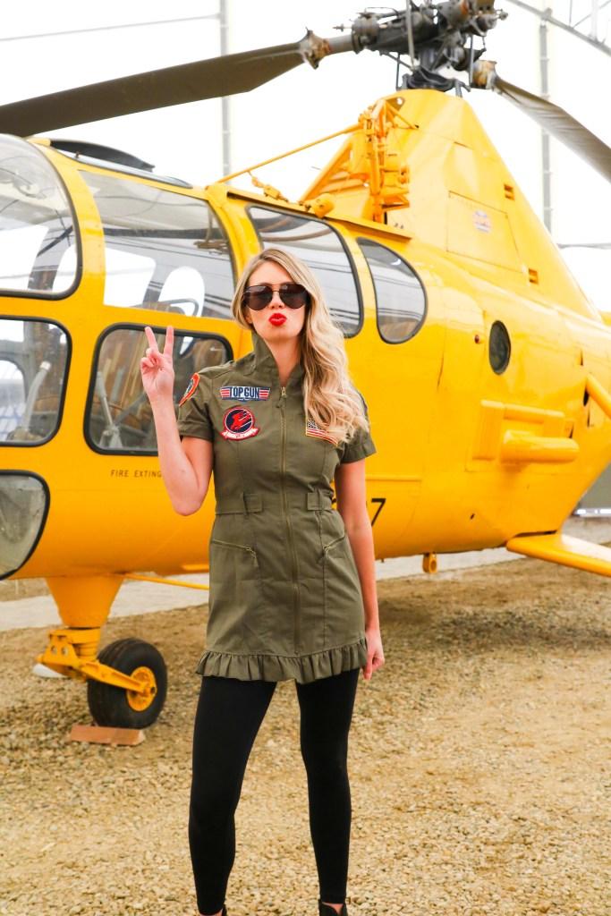 Women's Top Gun Costume