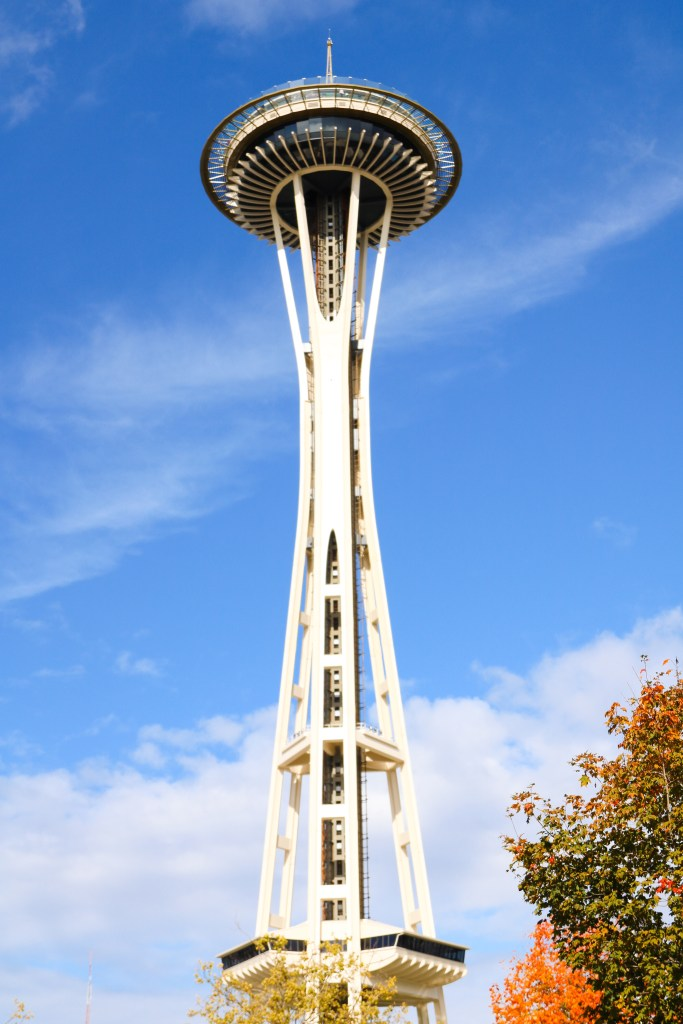 Space Needle views in Seattle, Washington