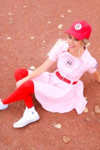 Baseball Halloween Costume - A League of Their Own
