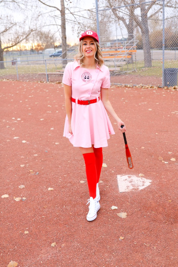 Baseball uniform costume - A League of Their Own