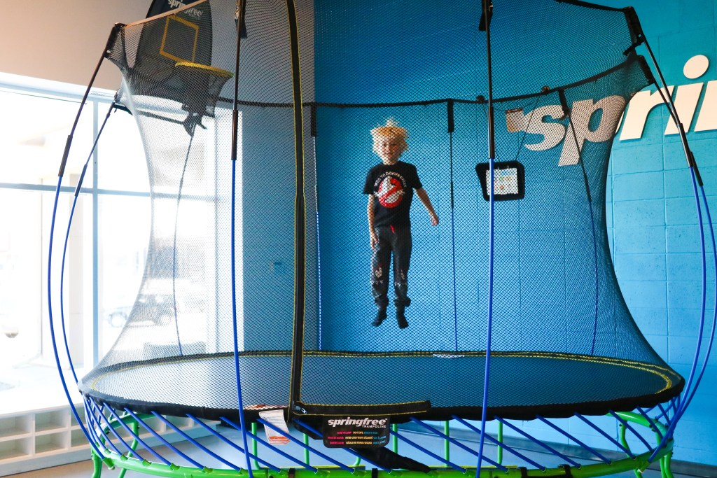 Spingfree Trampoline adds Colour to their now customizable trampolines!