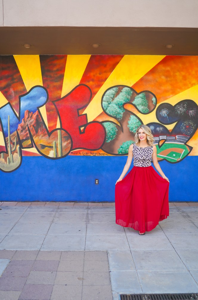 Mesa Mural Walk - Instagram Walls in Mesa, Arizona - Instagrammable walls Pheonix - travel photography