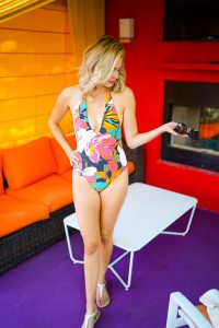 Bikini Village one-piece Billabong suit - what to pack for vacation