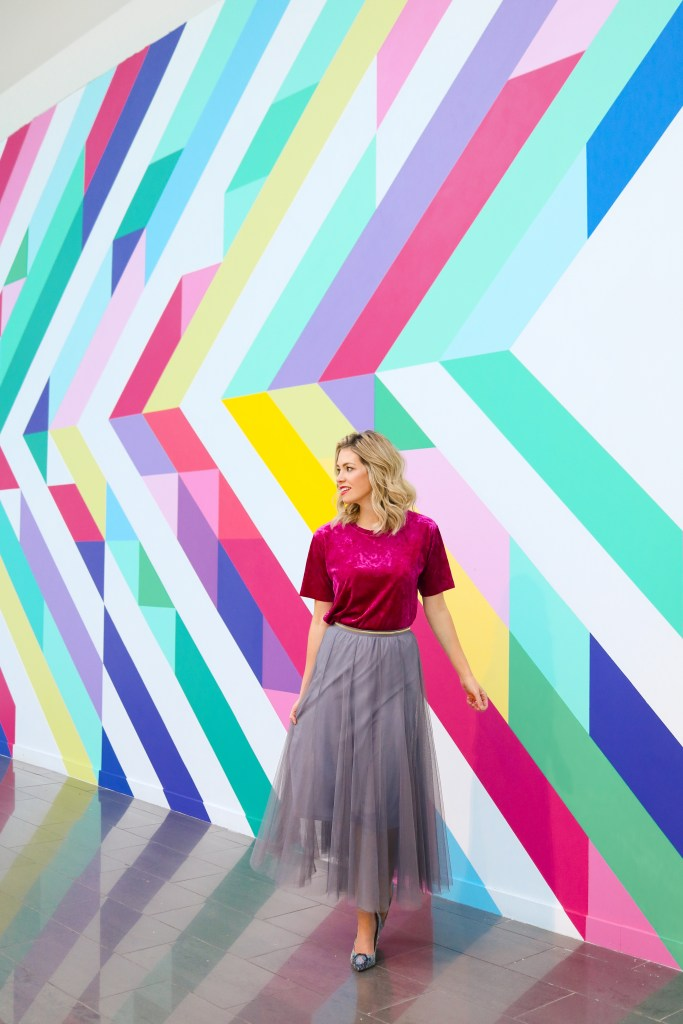Instagrammable Calgary - ChromaYYC - imstagram walls in Calgary
