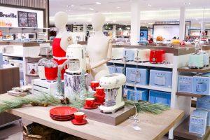 Southcentre Mall gift ideas - home applicances at Hudson Bay - Smeg