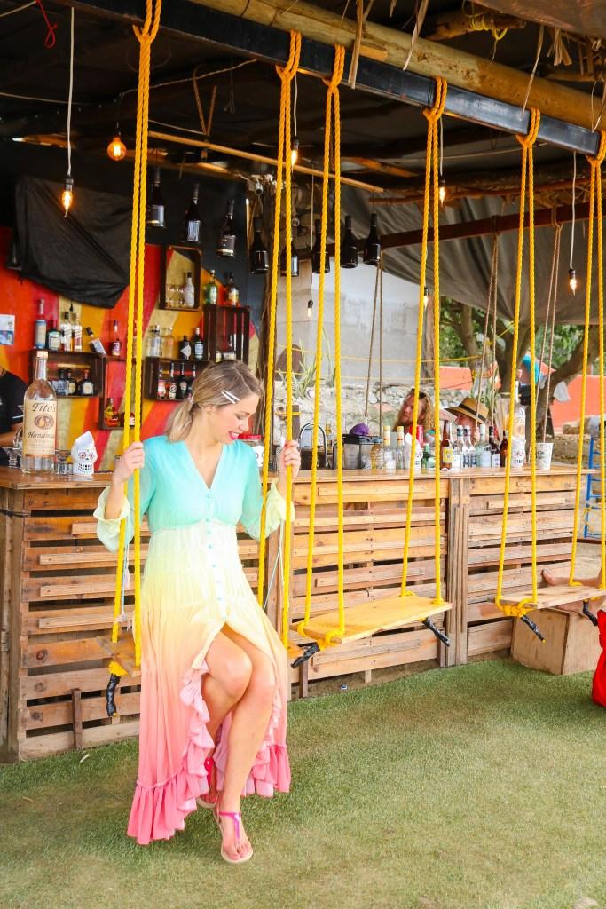 Beach bar in Sayulita