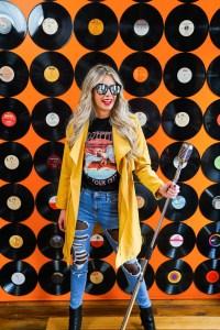 Record Wall in Calgary - Instagram photography studio in YYC - great photos in Calgary, Alberta