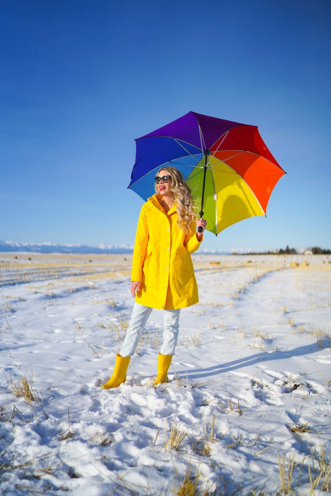 Joe Fresh raincoat and rain boots - perfect for spring style - cute outfit ideas - spring 2020 - #ootd #outerwear #style #fashion #canadian