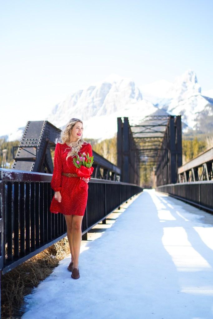 Canmore railway bridge - Alberta photography location - spring in Canada