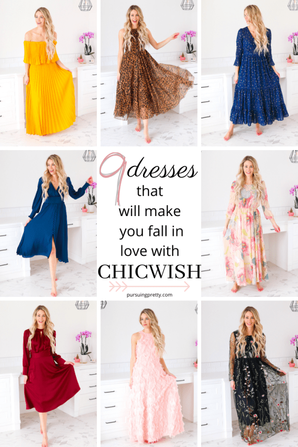 NINE dresses that will make you fall in love with Chicwish - my full Chicwish review! Spring style, outfit inspiration, ootd 2020, #fashion #style #dress #spring #ootd