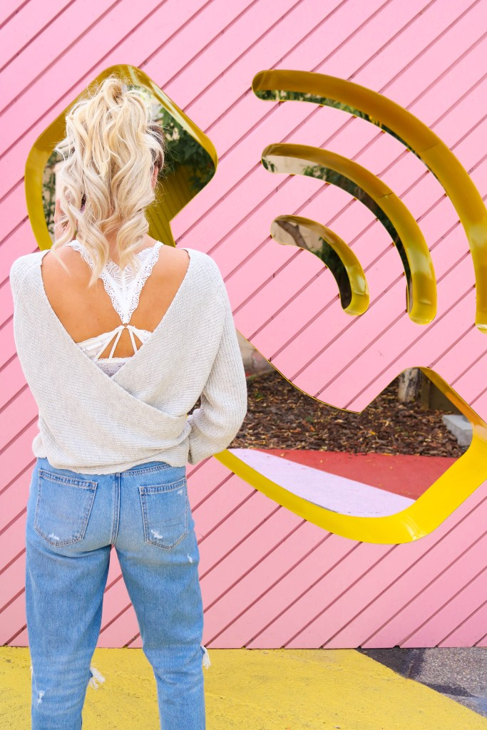 Bralettes, mom jeans, and ballet sweaters - fall LOVE