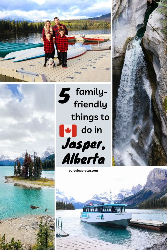 5 Things to do in Jasper with kids - a travel guide of the family-friendly sites to see! #travel - what to do in Jasper with kids -#canada #travel guide