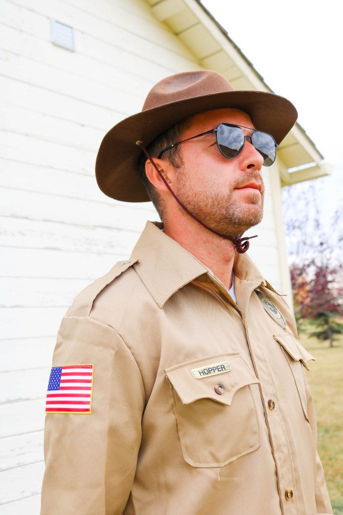 Hopper Halloween Costume - Stranger Things
