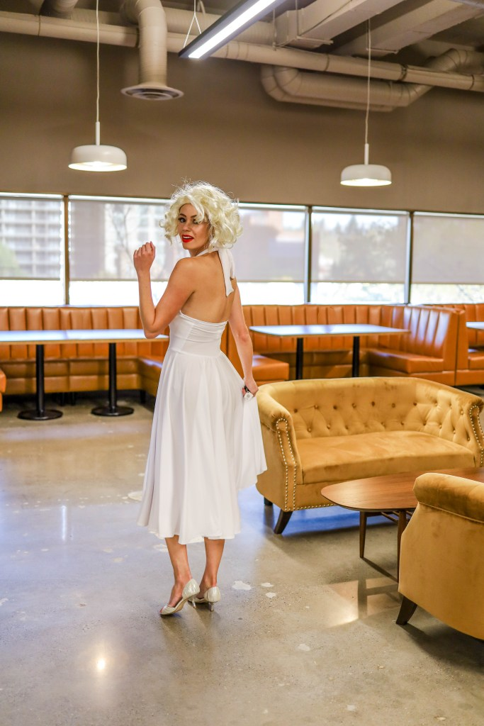 Marilyn Monroe Halloween Costume Tutorial