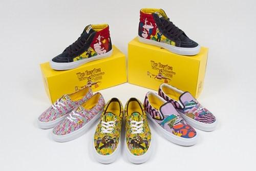 Vans-Beatles Shoes