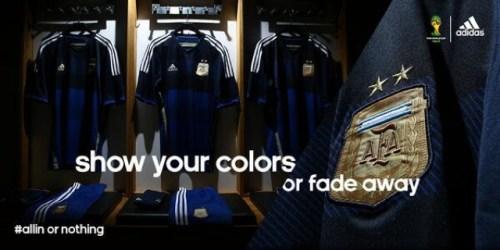 Argentina Away 2014