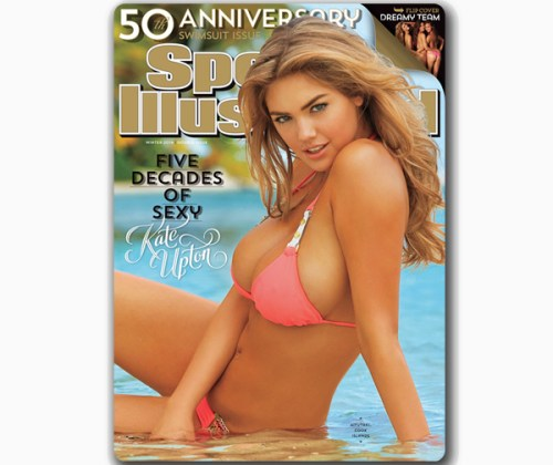 Kate Upton 2014 Flip Cover