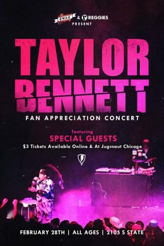 Taylor Bennett Reggie's