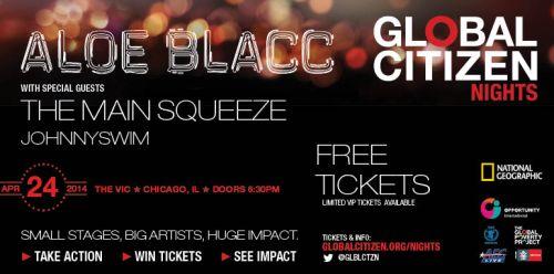 Global Citizen Nights Chicago