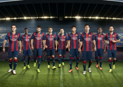 FC Barcelona Home Kit 2014-15