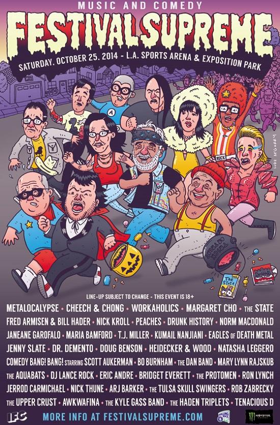Festival Supreme 2014 Poster