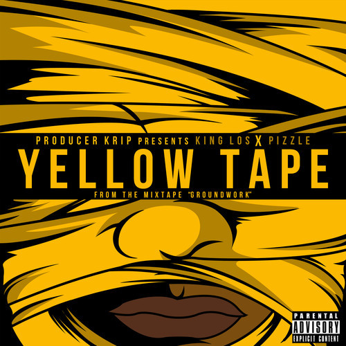 King Los Pizzle Yellow Tape