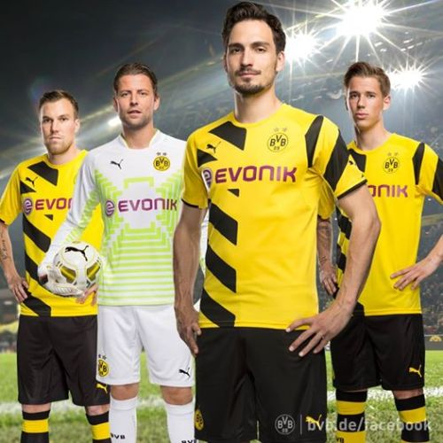 Borussia Dortmund 2014-15 Home Kit