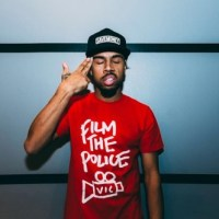 "New Vic Mensa Merch - ""Film The Police"" Tees + Tattoos Hoodie"