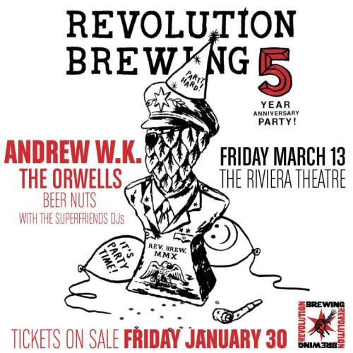 Revolution 5 yr Party