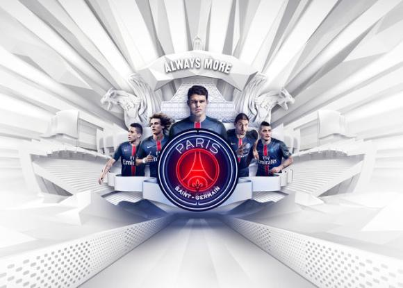 Paris Saint Germain 2015-16 Home Kit