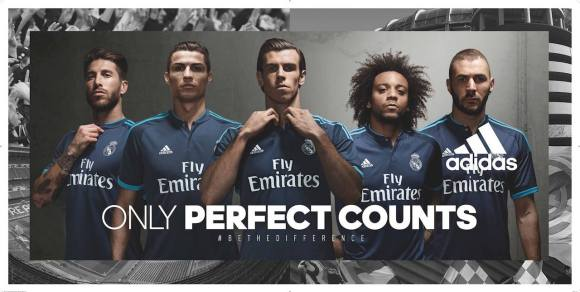 Real Madrid 2015-16 Third Kit