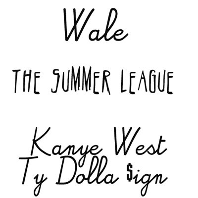 Wale Kanye West The Summer League