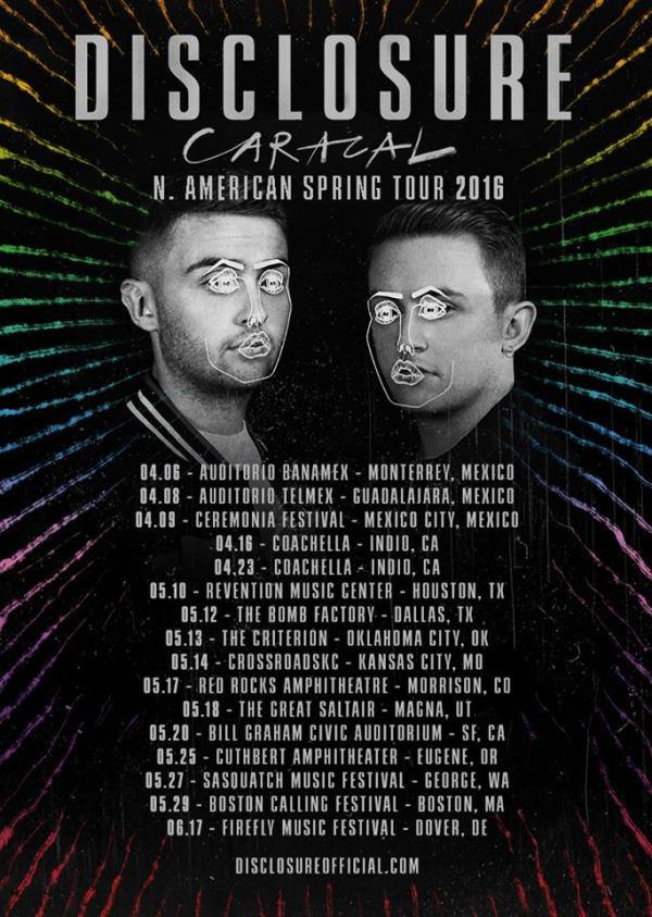 Disclosure 2016 Tour