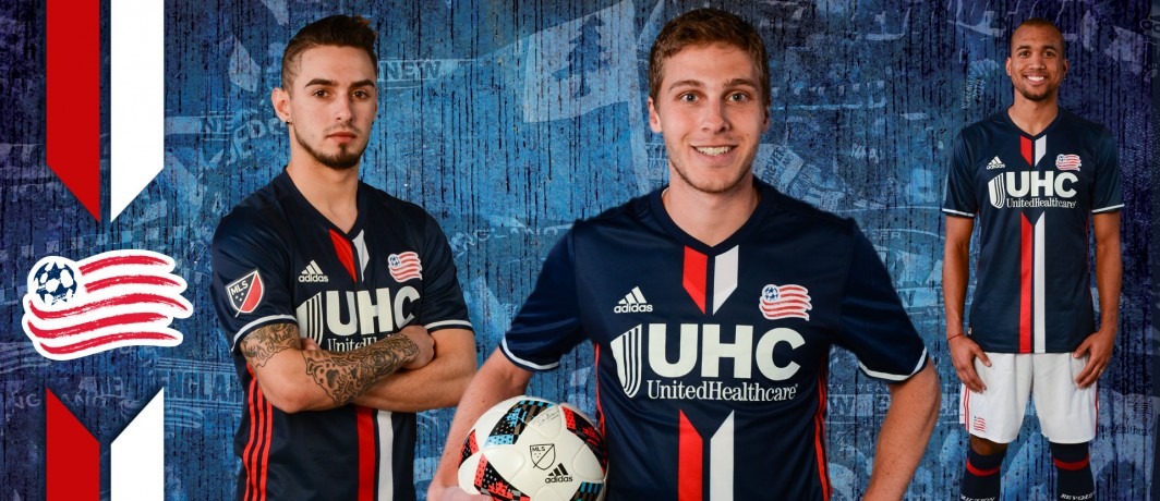 New England Revolution Jersey Players