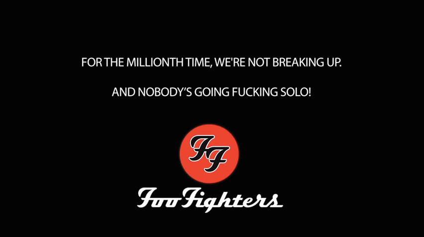 Foo Fighters Breakup