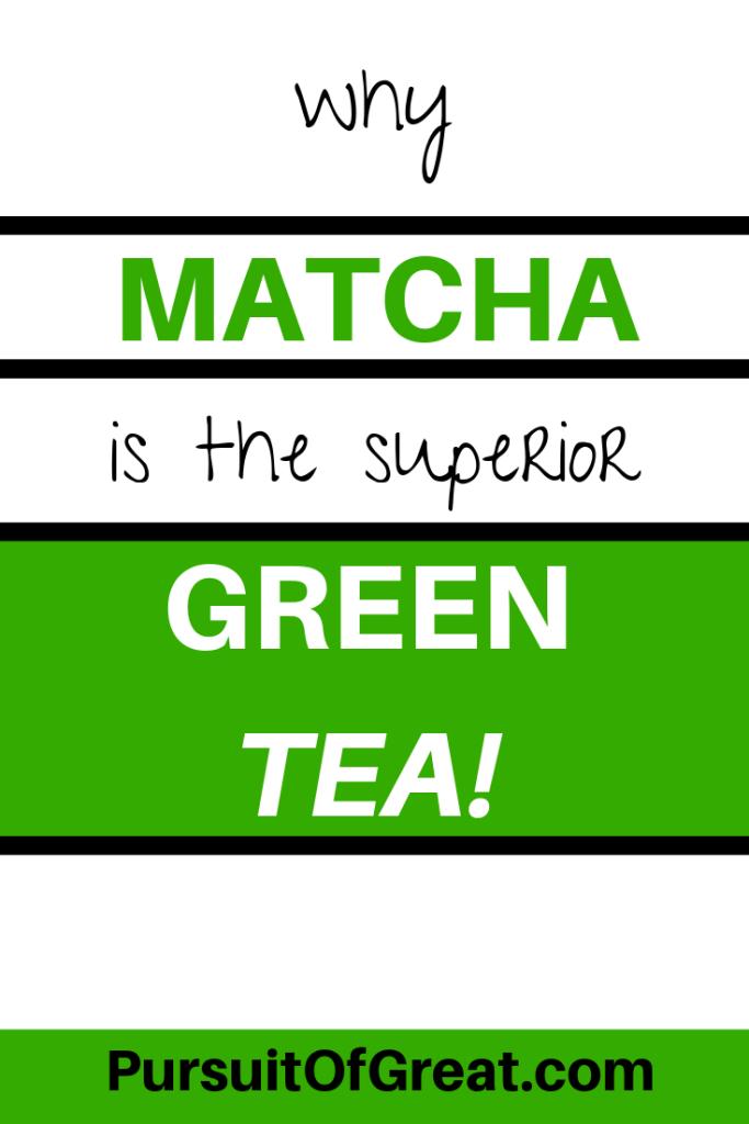 Why matcha is the superior green tea #matcha #greentea #healthydrinks #healthyeating