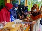 Bazar yang daidakan karang taruna di Desa Prapag Kidul Pituruh