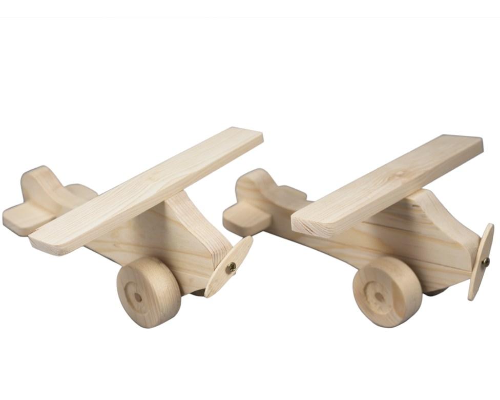Giocattoli di legno - aeroplani