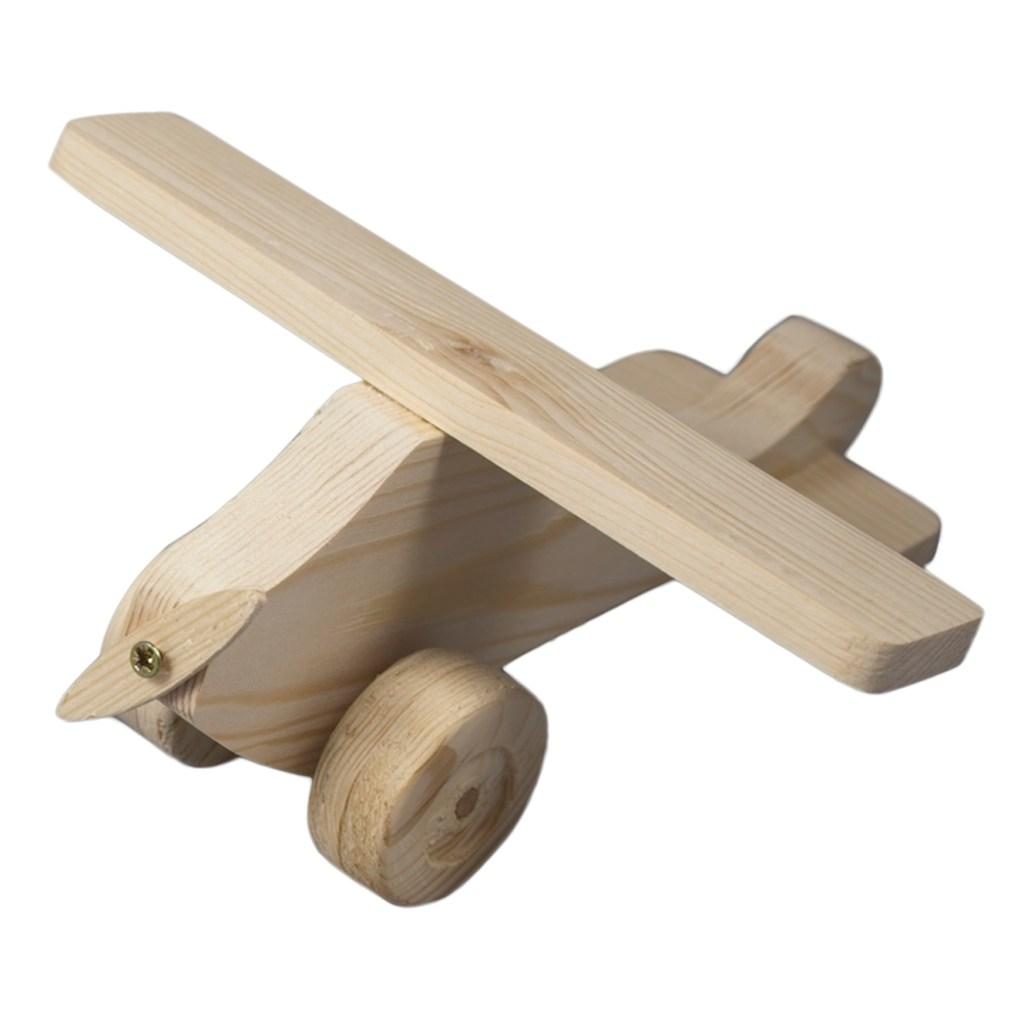 Giocattoli di legno - aeroplano