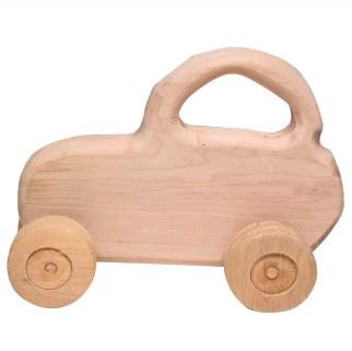 Giocattoli di legno - profilo piccola macchina