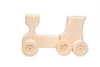 Giocattoli di legno - trenino di legno