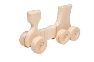 Giocattoli di legno - treno di legno