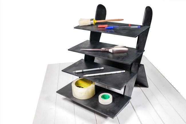 Espositore da tavolo in legno