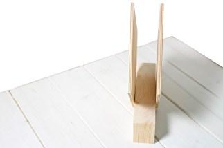 portatovaglioli di legno