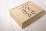 Cassetta di legno per olio