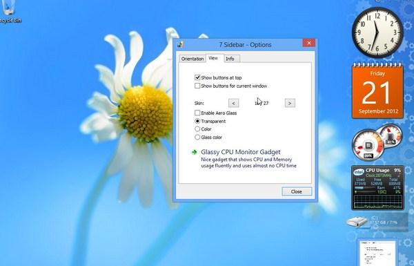 Cara Mudah Menambahkan Gadget di Windows 8