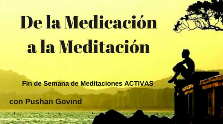 De la medicación a la meditación, 24 al 26 de marzo 2017, Vancouver